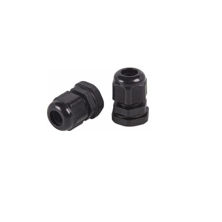 REXANT Кабельный ввод PG-9 (4-8мм) черный (07-8009-1)