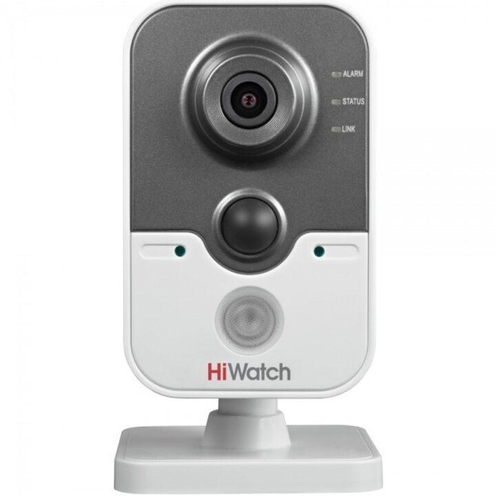 фото - Видеокамера IP 1 Мп малогабаритная HiWatch DS-I114 (2.8 mm)
