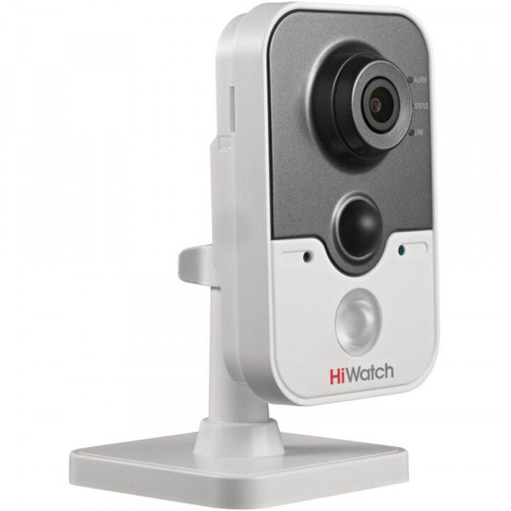 фото - Видеокамера IP 1 Мп малогабаритная HiWatch DS-I114W (6 mm)