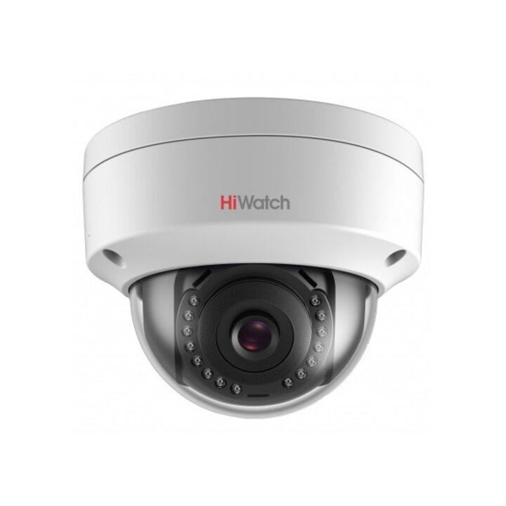 фото - Видеокамера IP 4 Мп купольная уличная HiWatch DS-I402 (6 mm)